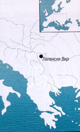 mapa srbije lepenski vir Lepenski Vir mapa srbije lepenski vir